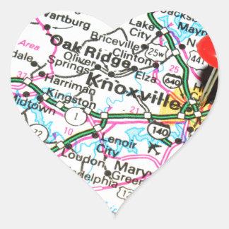 Knoxville, Tennessee Sticker Cœur