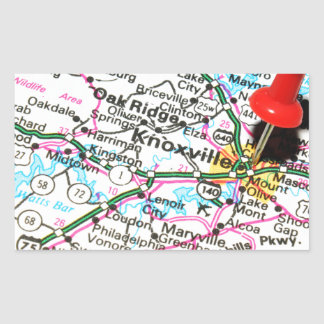 Knoxville, Tennessee Sticker Rectangulaire