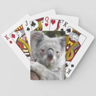 Koala australien cartes à jouer