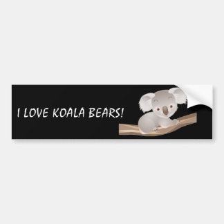 Koala de bébé autocollant de voiture