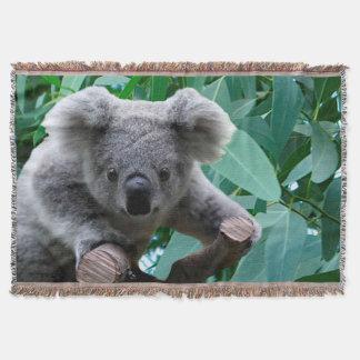 Koala et eucalyptus couverture