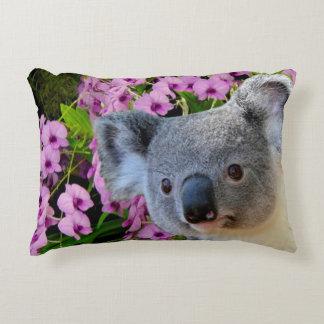 Koala et orchidées coussins décoratifs