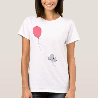 Koala flottant loin t-shirt