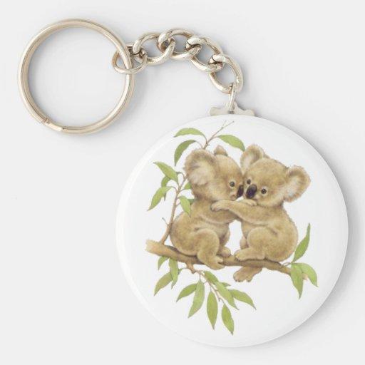 Koala mignons porte-clefs
