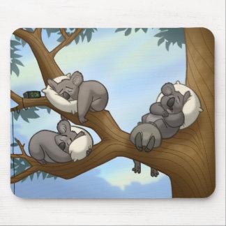 Koala Mousepad de sommeil Tapis De Souris