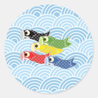 Kodomo-aucun-salut Sticker Rond