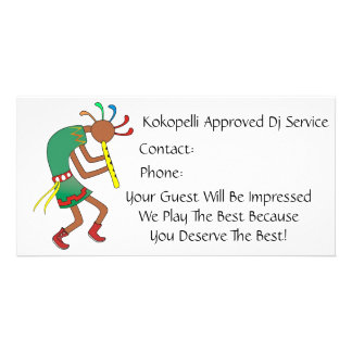 Kokopelli a approuvé le balancier ! - Carte de Cartes De Vœux Avec Photo
