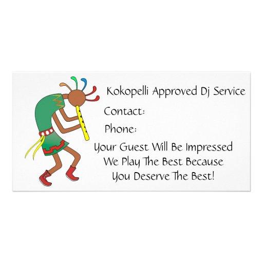 Kokopelli a approuvé le balancier ! - Carte de vis Cartes De Vœux Avec Photo