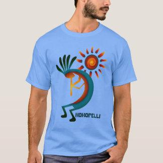 Kokopelli avec le T-shirt de bleu de Sun
