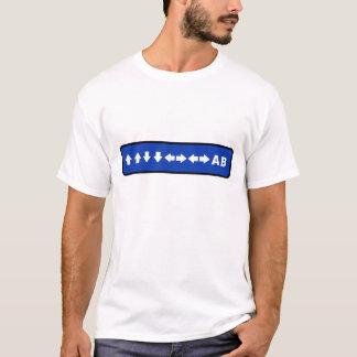 Konami Code (Blue) T-shirt