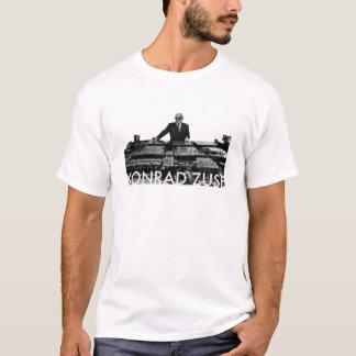 Konrad Zuse (fond clair) T-shirt