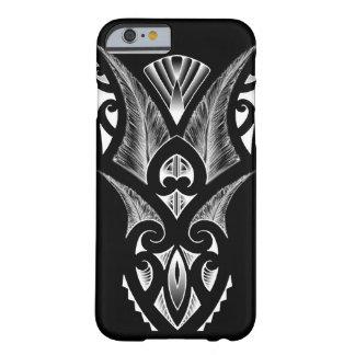 Koru maori de noir de conception de tatouage coque barely there iPhone 6