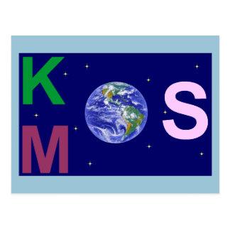 Kosmos étoilé carte postale