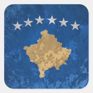 Kosovo Sticker Carré