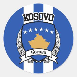 Kosovo Sticker Rond