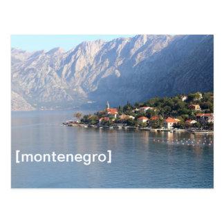 Kotor, carte postale de Monténégro
