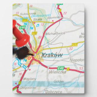 Kraków, Cracovie, Cracovie en Pologne Plaque Photo