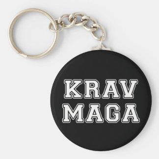 Krav Maga Porte-clé Rond