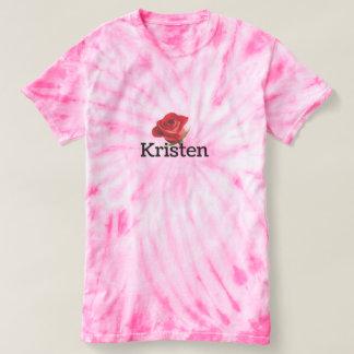 Kristen Kramer limité teignent en nouant le T-shirt