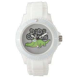 Kroko design montres