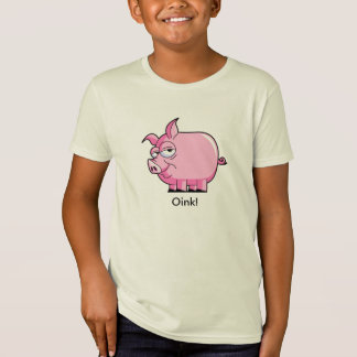 Krouik-krouik ! T-shirt de porc