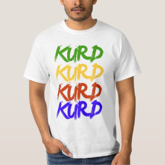 Kurde en couleurs t-shirt
