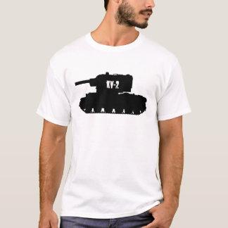 KV-2 réservoir russe, pièce en t de T-shirt