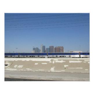 L.A. en mouvement Tirage Photo