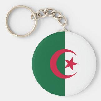 L Algérie - drapeau algérien Porte-clés