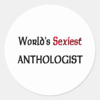 L anthologiste le plus sexy du monde autocollants