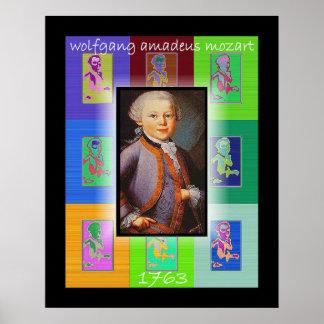 L art de bruit petit Mozart Posters