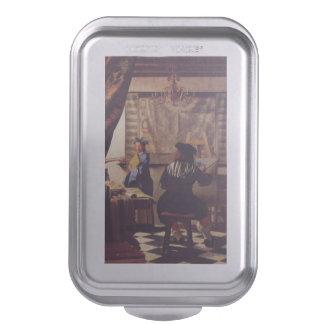 L art de la peinture par Johannes Vermeer Moule À Gâteaux