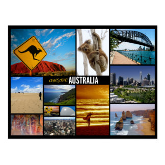 l australie carte postale