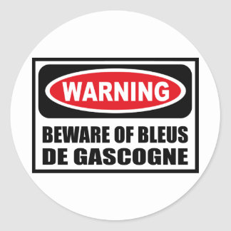 L avertissement PRENNENT GARDE de l autocollant de