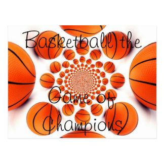 l basket-ball d'amour le jeu de la carte postale