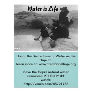 L eau est insecte de la vie tract personnalisé