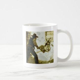 l échange de tirs mug à café