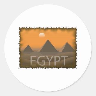 L Egypte vintage Adhésifs
