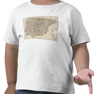 L Espagne et le Portugal 3 T-shirts