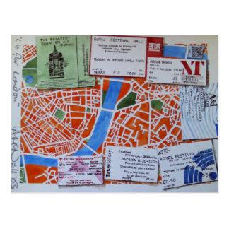 L est pour la carte postale de Londres