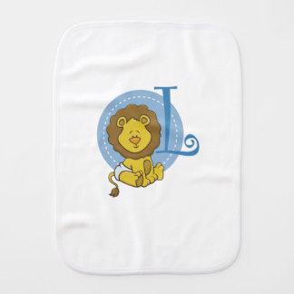 L est pour le lion linge de bébé