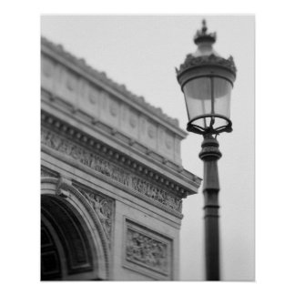 L Europe France Paris Arc de Triomphe et Affiche