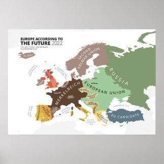 L Europe selon le futur 2022 Poster