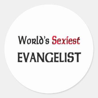 L évangéliste le plus sexy du monde autocollants