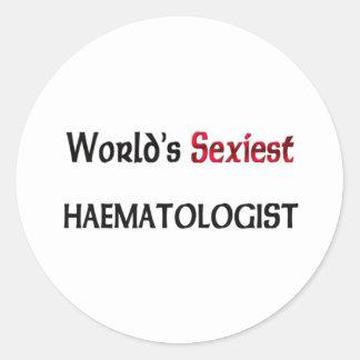 L hématologue le plus sexy du monde autocollants