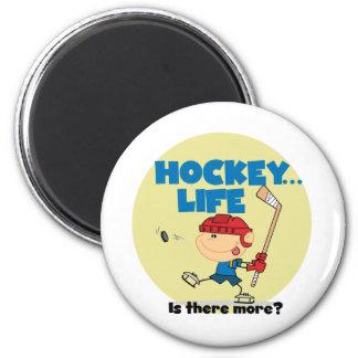 L hockey a lieu là plus de T-shirts et de cadeaux Aimant