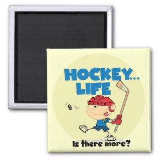 L hockey a lieu là plus de T-shirts et de cadeaux Aimants Pour Réfrigérateur