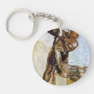 L homme avec la corde par Honore Daumier Porteclés