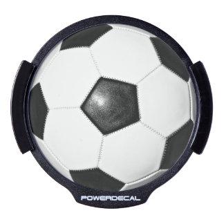 L idée LED de cadeau de fan de foot allument le Autocollant Pour Fenêtre LED