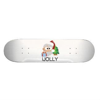 l iJOLLY le père noël écarte le bonheur Plateaux De Skateboards Customisés